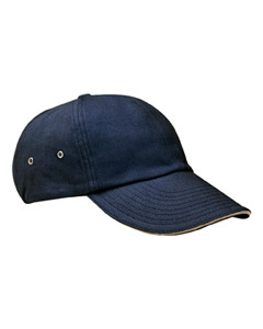 6-Pane`Low-Profile Ultra Heavyweight Brushed Twil`Sandwich Cap