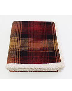 Cottage Plaid Throw Blanket