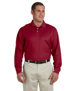 Men's  Pima Pique Long-Sleeve Polo
