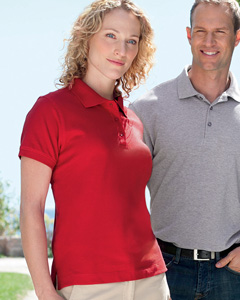 Ladies  Organic Pique Polo