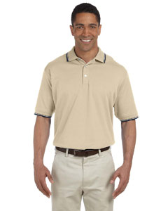 Men\'s  Tipped Perfect Pima Interlock Polo