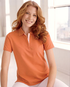 Ladies  Tanguis Cotton Pique Polo