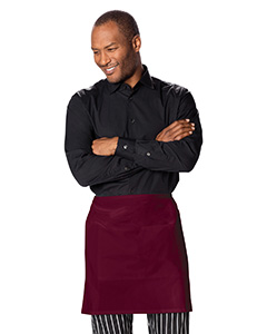 Half Bistro Waist Apron with 2 Pockets