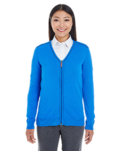 Ladies\' Manchester Fully-Fashioned Full-Zip Sweater