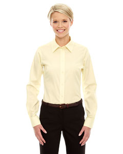 Ladies Crown Collection Solid Stretch Twill