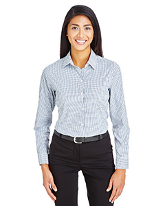 Ladies' CrownLux Performance™ Micro Windowpane Shirt