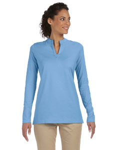 Ladies  Stretch Jersey Long-Sleeve Tunic