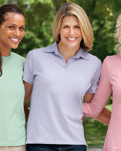 Ladies  Stretch Jersey Polo