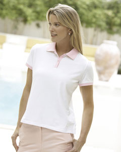 Ladies  Stretch Jersey Tennis Polo