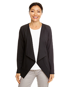 Perfect Fit™ Draped Open Blazer