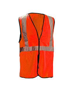 Value Mesh Five-Point Breakaway Vest Class 2
