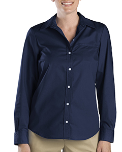 5 oz. Women's Long-Sleeve Stretch Poplin Shirt