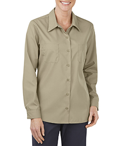 Ladies' Industrial Long-Sleeve Work Shirt