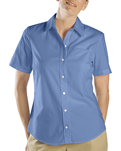 5 oz. Women's Short-Sleeve Stretch Poplin Shirt