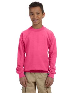 Youth  7.75 oz. Heavy Blend™ 50/50 Fleece Crew