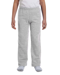 Youth  7.75 oz. Heavy Blend™ 50/50 Open-Bottom Sweatpants