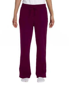 Ladies  7.75 oz. Heavy Blend™ 50/50 Open-Bottom Sweatpant