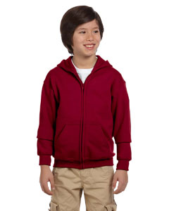 Youth  7.75 oz. Heavy Blend™ 50/50 FulmZip Hood