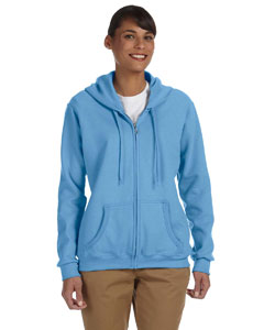 Ladies  7.75 oz. Heavy Blend™ 50/50 FulmZip Hood