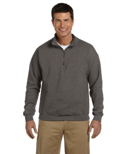 8 oz. Heavy Blend™ Vintage Classic Quarter-Zip Cadet Colla