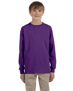 Youth  6.1 oz. Ultra Cotton®  Long-Sleeve T-Shirt