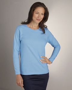 Ladies  6.1 oz. Ultra Cotton®  Long-Sleeve T-Shirt