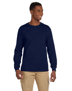 6.1 oz. Ultra Cotton® Long-Sleeve Pocket T-Shirt