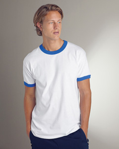 6.1 oz. Ultra Cotton® Ringer T-Shirt
