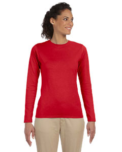 Ladies  4.5 oz. SoftStyle Junior Fit Long-Sleeve T-Shirt