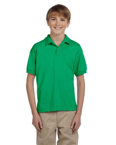 Youth  5.6 oz. DryBlend™ 50/50 Jersey Polo