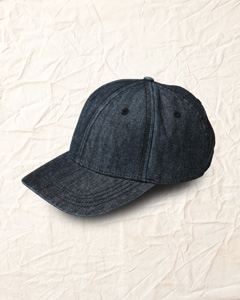 Basic Denim Structured Cap