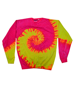 Adult Pigment-Dyed Tie-Dyed Fleece