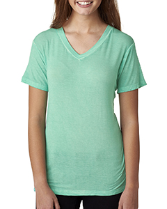 Ladies' Oasis Wash V-Neck Tee