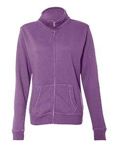 Ladies Sueded Fleece Full Zip Jacket