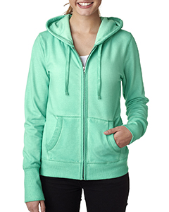 Ladies' Oasis Wash Full-Zip Hooded Fleece