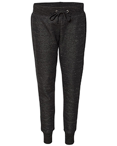 Ladies' Melange Fleece Jogger Pant