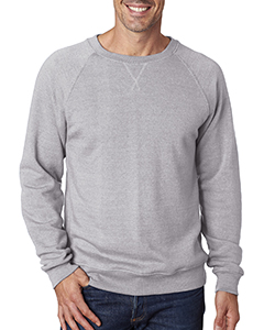 Adult Tri-Blend Fleece Crew