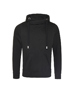 Men's 80/20 Heavyweight Cross Over Neck Hooded Sweatshirt