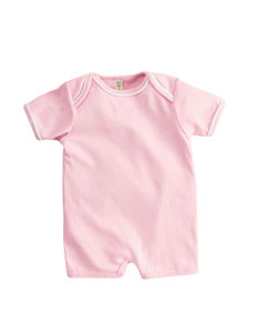 Infant  Andy 1x1 Rib Shortal`Romper
