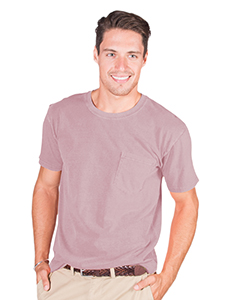 Adult 6.1 oz. Cotton Short-Sleeve T-Shirt with Pocket