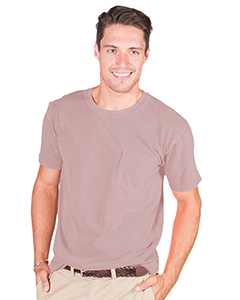 Adult 4.8 oz. Cotton Short-Sleeve T-Shirt with Pocket