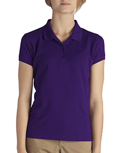 Girls Short-Sleeve Performance Polo