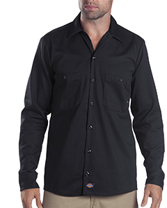 6 oz. Industria`Long-Sleeve Cotton Work Shirt