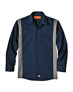4.5 oz. Industria`Long-Sleeve Color Block Shirt