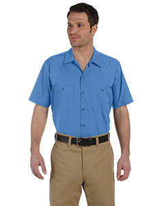 Men's  4.25 oz. Industria`Short-Sleeve Work Shirt