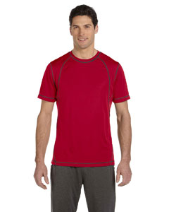 Men's  4.1 oz. Short-Sleeve Pieced Interlock T-Shirt