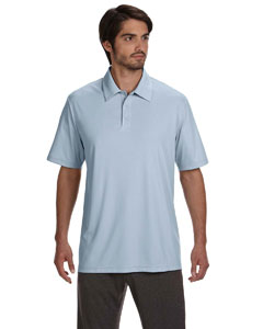 Men's Performance Three-Button Polo