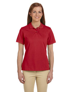 Ladies  6 oz. Ringspun Cotton Pique Short-Sleeve Polo