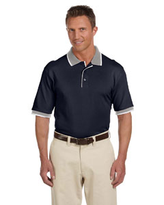 6 oz. Cotton Tipped Trim Pique Polo