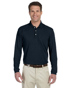 5.6 oz. Easy Blend Long-Sleeve Polo